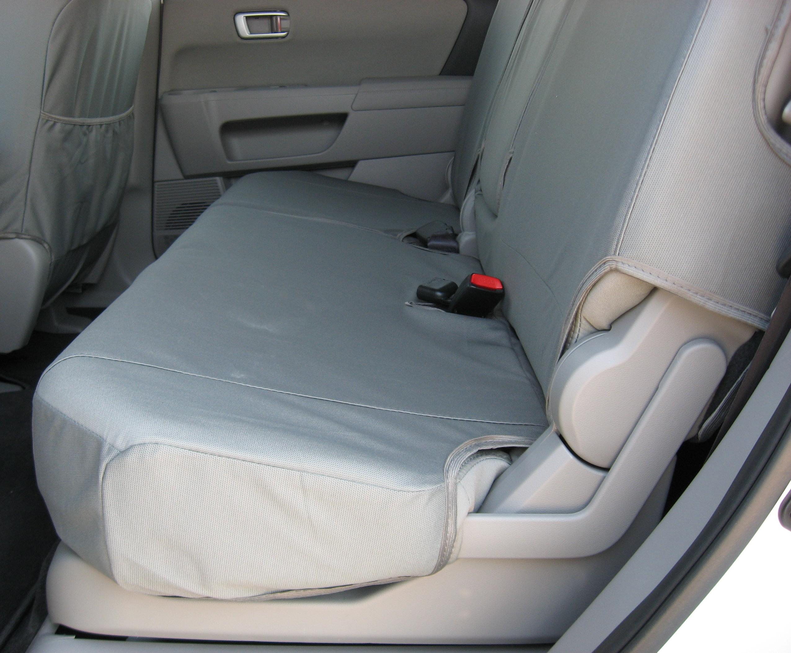 2009 2011 Honda Pilot Middle 60 40 Split Seat With Integrated Armrest Durafit Covers Custom