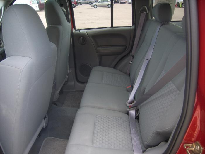 2001 2007 Jeep Liberty Exact Fit Seat Covers For Back 40 60 Split