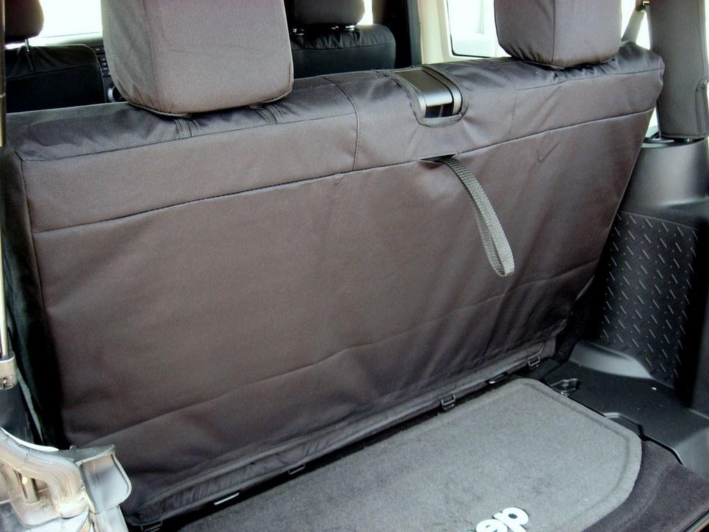 2007 2012 Jeep Wrangler Rear Bench Seat Durafit Covers