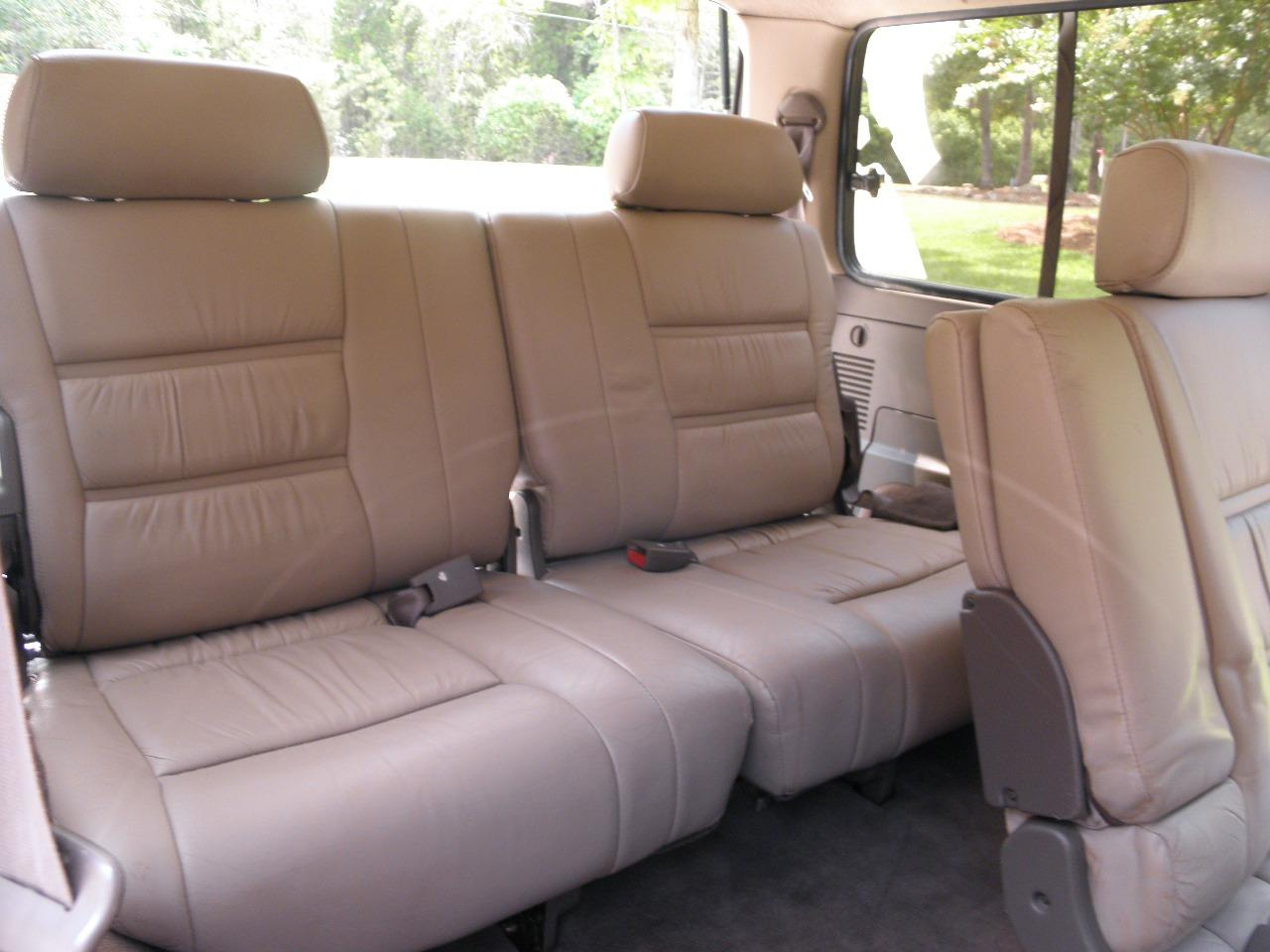 Awe Inspiring 1995 1997 Lexus Lx450 Rear 50 50 Split Bench Seat With Caraccident5 Cool Chair Designs And Ideas Caraccident5Info