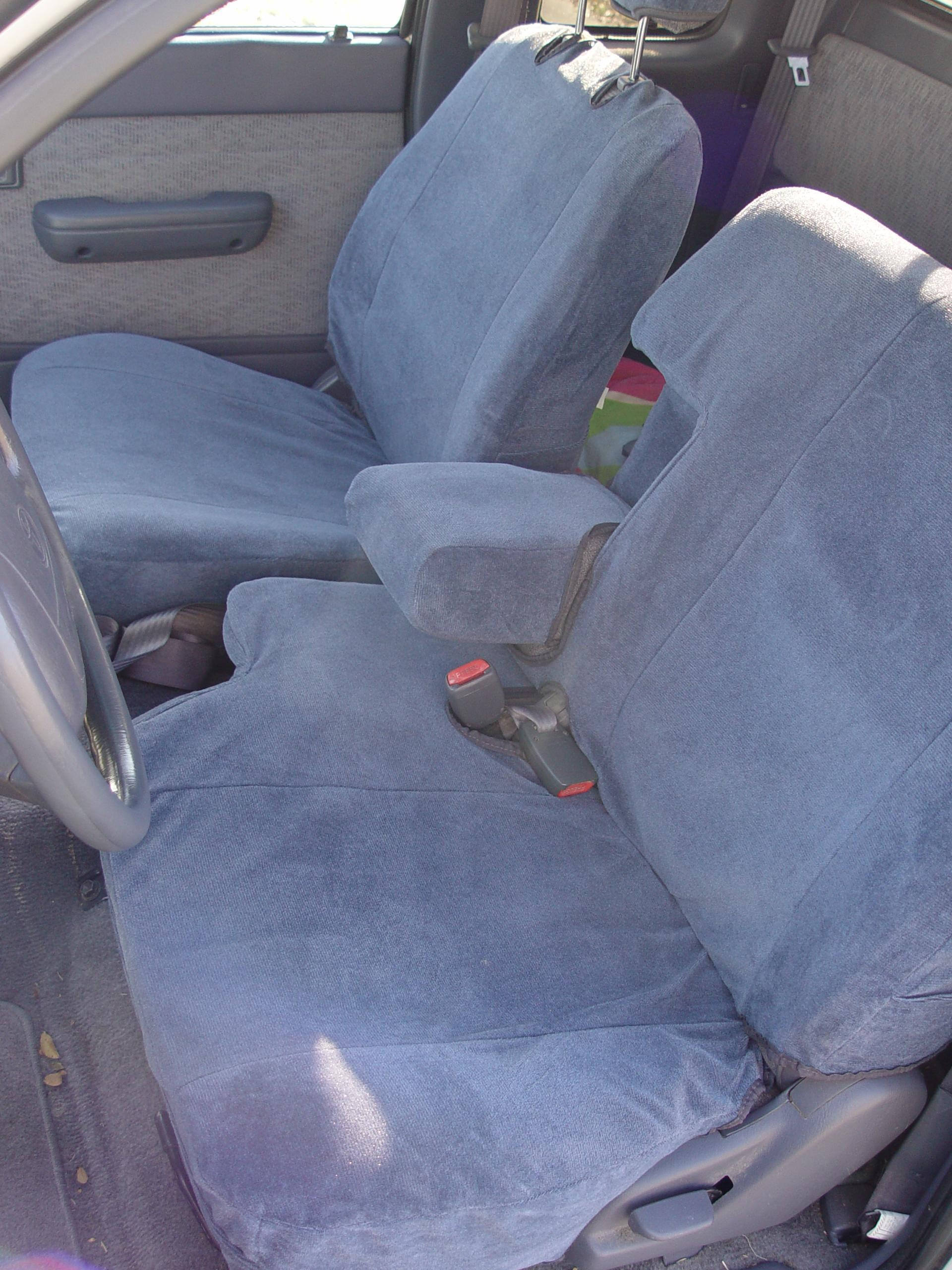 Magnificent 1995 2000 Toyota Tacoma Xcab Front 60 40 Split Bench Seat Machost Co Dining Chair Design Ideas Machostcouk