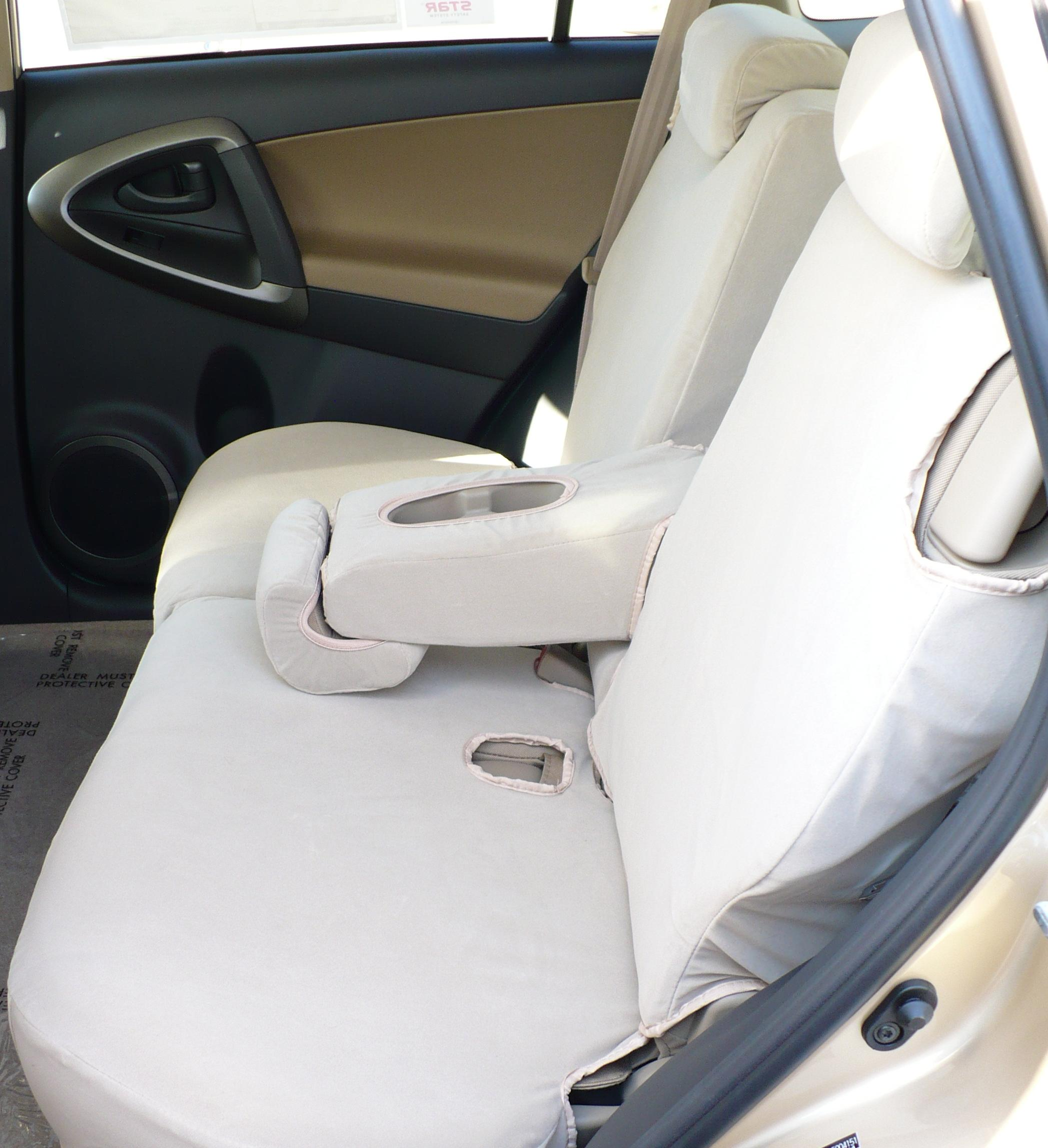 2006 2017 Toyota Rav4 Rear 60 40 Split Seat With Adjule Headrests And Fold Down Armrest