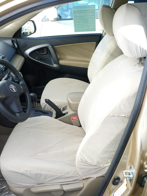 2009 2012 toyota rav4 base model seat covers for front and back seats front bucket seats and. Black Bedroom Furniture Sets. Home Design Ideas