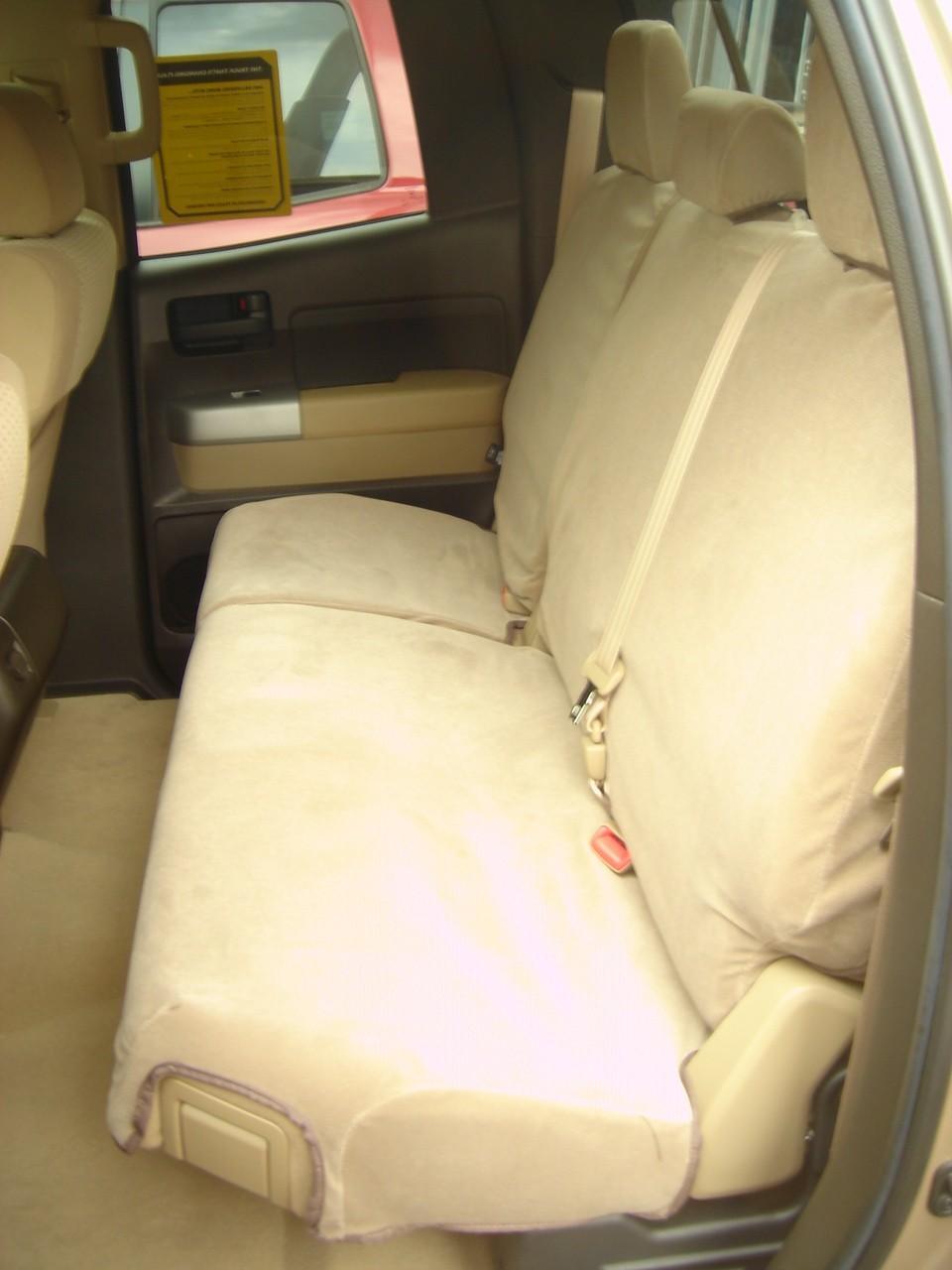2007 2013 Toyota Tundra Double Cab Rear 60 40 Split Seat