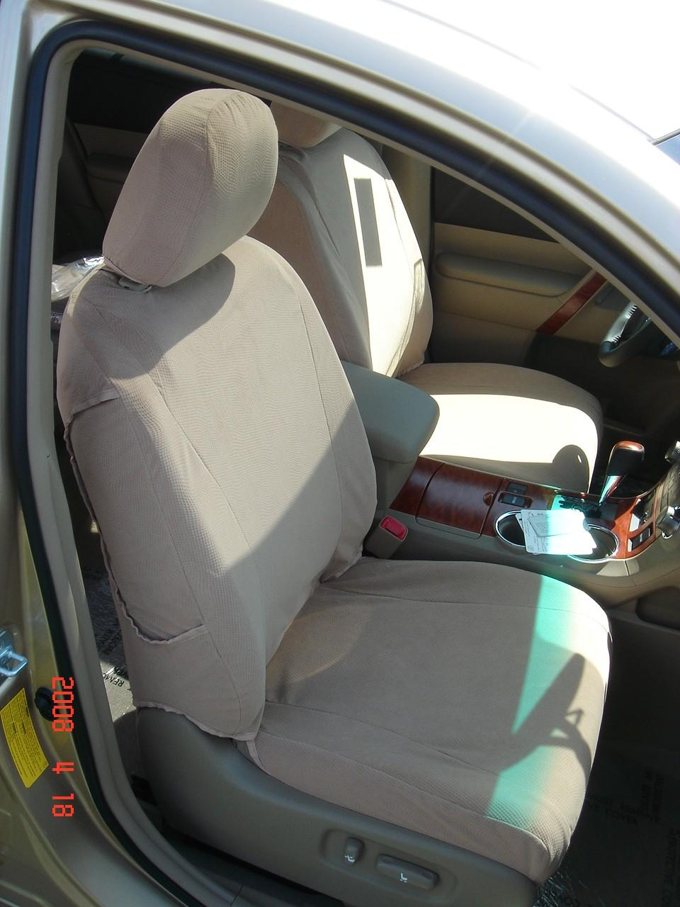 2008 2013 Toyota Highlander Front Bucket Seats And Middle