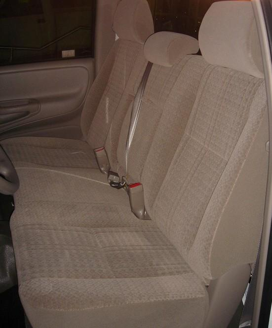 2005 2006 Toyota Tundra Front Solid Bench Seat With 3